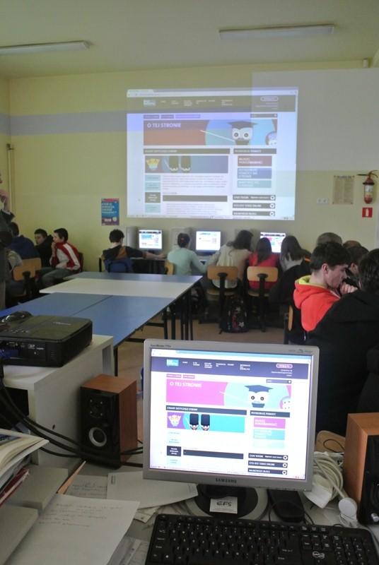 """Warsztaty nt. """"Walcz z przemocą w szkole"""" w BiałobrzegachWorkshop for learners """"Fight with violence in the school"""" in Białobrzegi"""