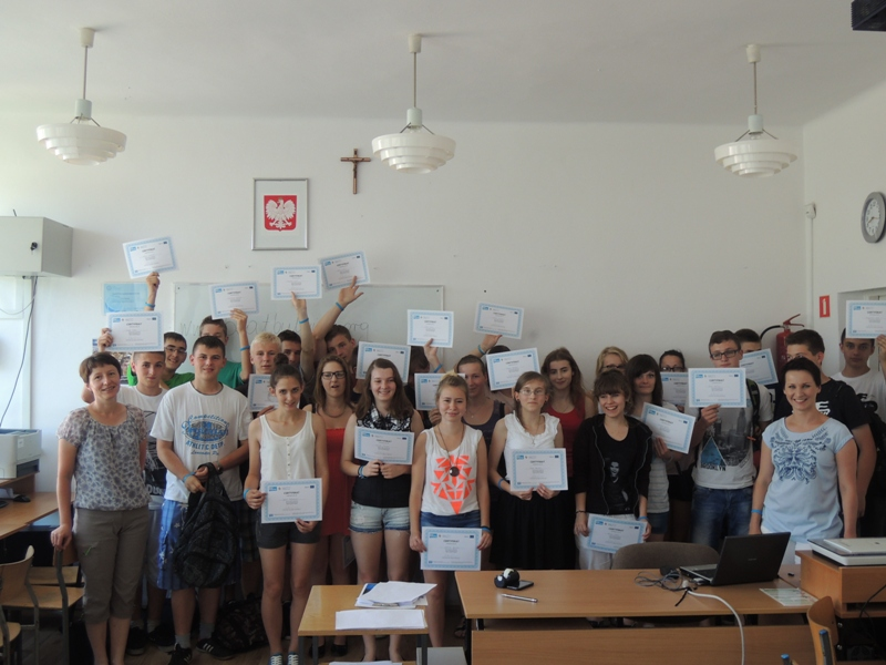 Workshop in high school in Wysoka
