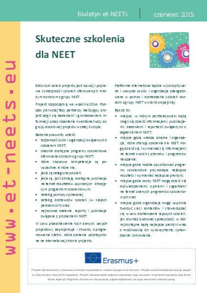 ET-NEETs: Newsletter nr 2