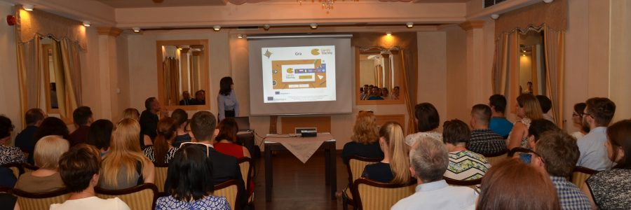 """Grywalizacja i przedsiębiorczość – konferencja upowszechniająca w ramach projektu """"Gamify Your Teaching"""""""