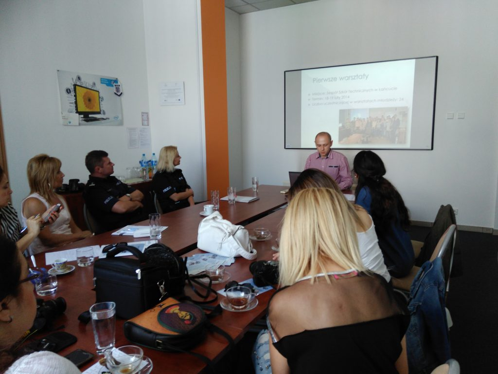 "The LTTA in Rzeszow within ""No Cyberbullying at the School!"" project"