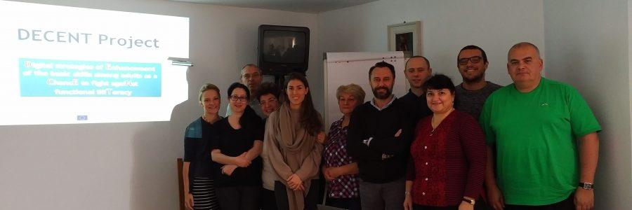 Pierwsze spotkanie partnerów w ramach projektu DECENT