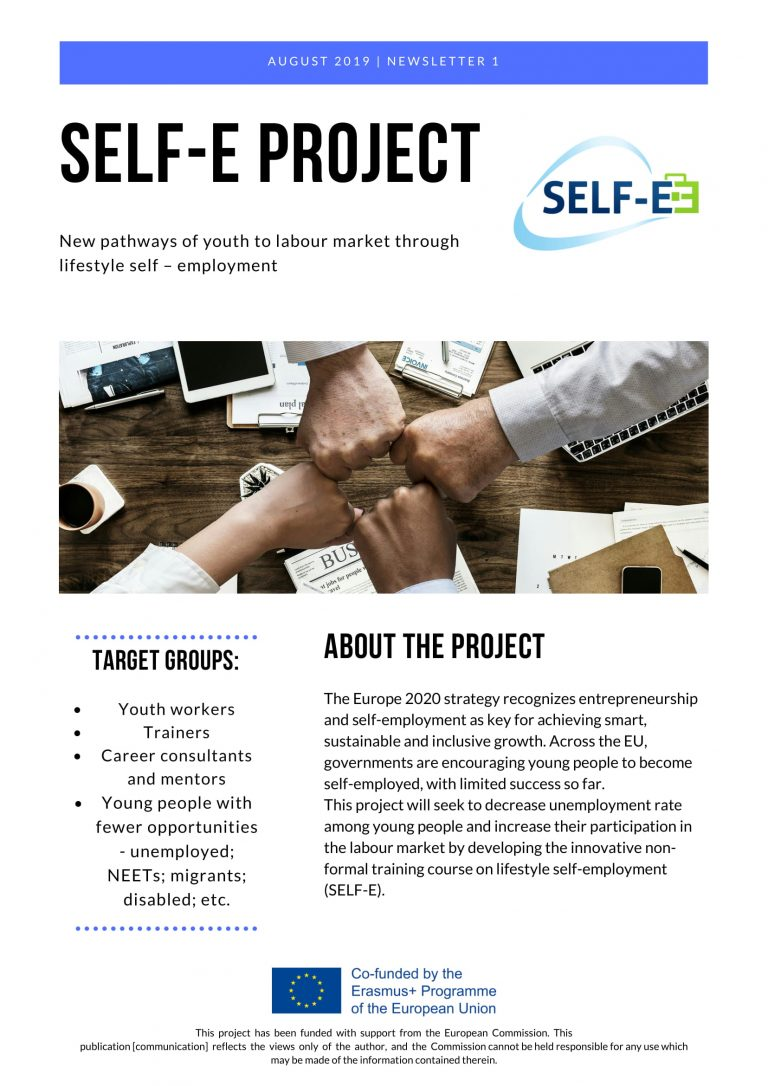 Powstał pierwszy newsletter dla projektu Self-E.